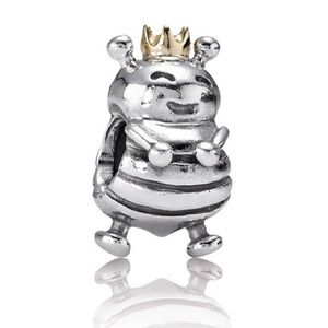 Retired Queen Bee Pandora Charm
